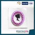 In alto la vendita di nuovi design silicone stampo da plum cake/bakeware