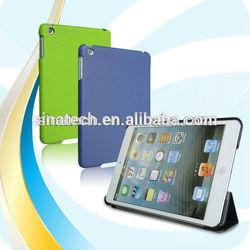 hot selling 2014 leather case for ipad mini sleep/wake up function