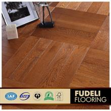 Top quality New design parquet white oak wood flooring