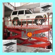 China Mutrade floor to floor VRC mini car vertical scissor lift platform