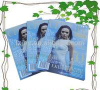 black inches magazine printing,perfect bound magazines printing