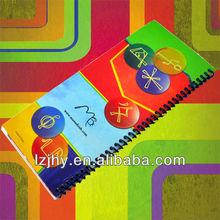 high quality spiral bound mini album book printing
