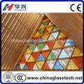 CE& ccc personalizzato top insonorizzate colorato vetro stile tiffany vetro colorato