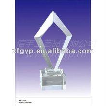 Crystal Plaque Trophy Cup
