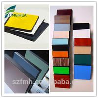 customize waterproof decorative melamine formica sheets