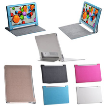 """2014 Colorful Business Ultra-thin Leather Case Cover For Lenovo Yoga 10.1"""" HD+ B8080 Tablet"""