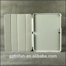 PU leather slim case for samsung galaxy tab 4 10.1-white