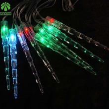 China Manufacturer New Items HOT SALE PVC icicle USB led festoon string light