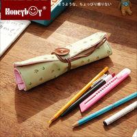 wholesale Promotional Custom School Roll Pencil Pouch