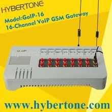 VoIP Terminal Gateway,goip gsm gateway with remote sim support,GoIP-16