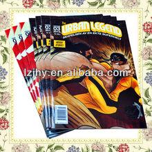 ประเทศจีนระบายสีหนังสือการ์ตูน, ราคาถูกภาษาอังกฤษหนังสือการ์ตูนพิมพ์โรงงานสำหรับผู้ใหญ่