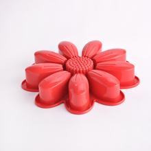 Forma de flor de qualidade alimentar silicone customed bolo moldes de silicone, congelamento de silicone molde do bolo, mão de silicone moldes de bolo