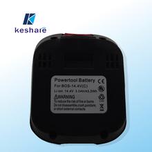 Bosh pièces de rechange rechargeable li - ion 14.4 v batterie pour perceuse sans fil outils électriques bosch batterie