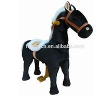 kiddie mechanical animal walking ride on horse