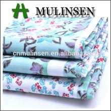Mulinsen Textile New Design Custom Printed 40s Poplin Baju Kurung Cotton Fabric