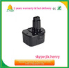 12v 3ah hand drill battery for dewalt de9074