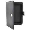 Black Leather Case Cover for Sony PRS-T2 PRST2 eBook Reader eReader Book Style