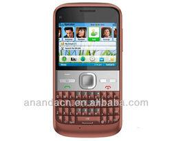 original E5 cell phones unlocked E5 3G 5MP camera mobile phones bluetooth mp3 player