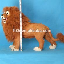 beautiful realistic handicraft decoration life size stuffed animals