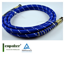 enpaker steam iron hose silicone with fabric