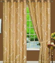 Wholesale fashion yellow lace window curtain MS-006