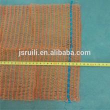33x47cm cheap orange mesh plastic bag