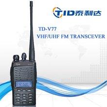 Td-v77 vhf/uhf walkie talkie 2 way phone