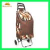 high quality folding shopping trolley bag with wheels