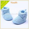 venta al por mayor zapatos y sombrero de ganchillo para bebés