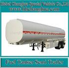 47000 liters fuel tanker semi trailer crude oil storage tank