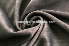 100% polyester wool like fabrics window curtain pattern