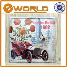 20*20CM Metal decrative tin sign,vintage tin painting,tin picture