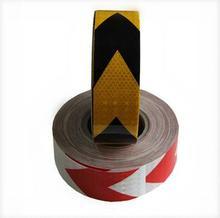 PET Custom printable arrow caution hi viz safety reflex tape