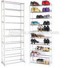 floor folding shoe rack