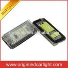 Fashion Style Auto Accessory 12V led car lights for BMW E46 4D led license plate lamp