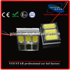 High Power 4.5W Super White 3 LED Panel led dome lights with T10 BA9S Festoon