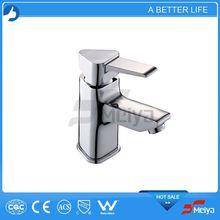 New Arrive Hot Sale Waterfall Faucet Square Mixer Glass Faucet,single handle basin faucet