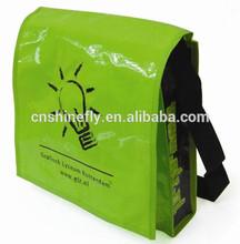 pp woven laminated shoulder bag