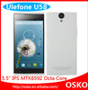 5.5inch U58 Ulefone 2GB RAM +16GB ROM android dual sim card octa core MTK6592 cell phone