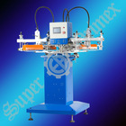 High speed automatic 3 color textile label screen printing machine