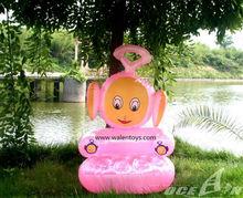inflatable animal chair sofa, kids/baby fun rabbit ,dog,monkey chair