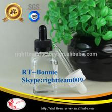 1/2oz mass stock!! square glass e-liquid bottle essential oil cosmetic/olive oil bottle with dropper cap
