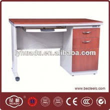 cherry wood office desk/ steel office furniture/ most popular manufacturer