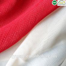 stretch 90% nylon and 10% spandex mesh fabric tricot mesh fabric