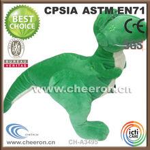 Professional manufacturer supply big stuffed plush dinosaur toy