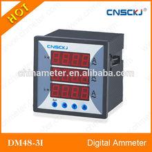 DM48-3I Higher and lower limit alarm output digital ampere meter