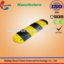 Professional Manufacturer Rubber / cast steel Traffic Speed Bump Metal Speed Bump