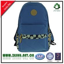 2014 yeni moda coloful tuval okul çantası