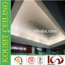 Cheapest aluminium High perforated strip ceiling