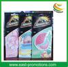 Hanging Paper Air Freshener for promotion, Custom made Paper Car Air Freshener